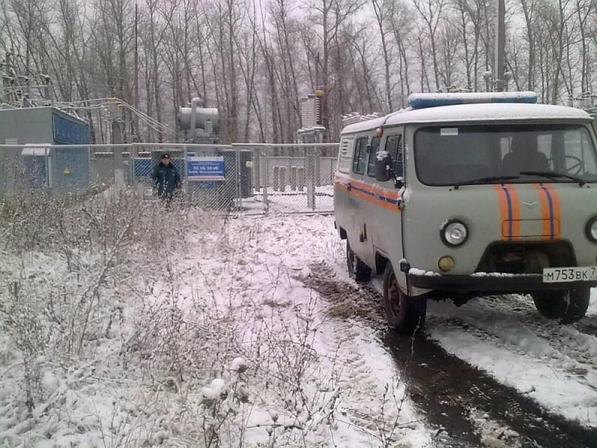 Электроснабжение вОдоевском районе восстановили