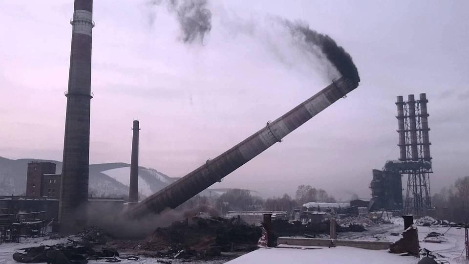 ВИжевске взорвут 4 трубы натерритории завода
