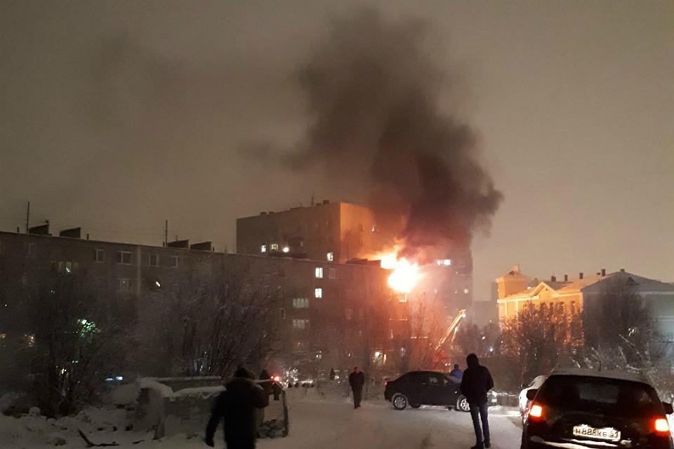 СКвозбудил уголовное дело после взрыва газа вжилом доме вМурманске