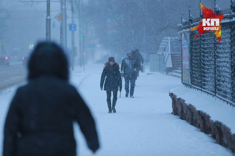 Красноярцев предупреждают осильном ветре и стремительном похолодании
