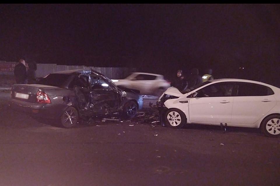 «Пьяное» ДТП под Богородском: иностранная машина протаранила «Ладу», двое погибли