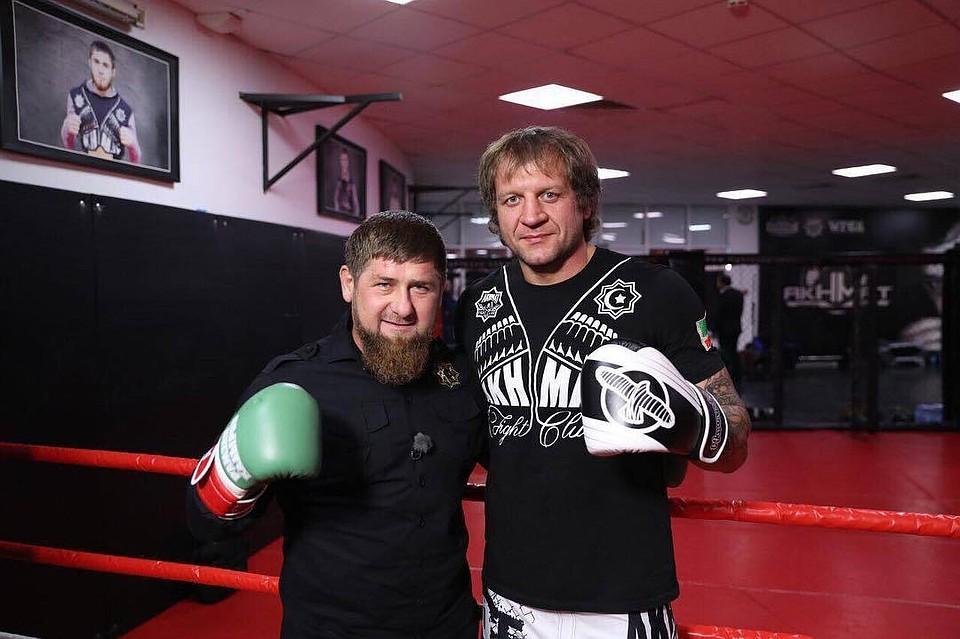 Емельяненко-младший провел спарринг сКадыровым— Спортзал уравнивает всех