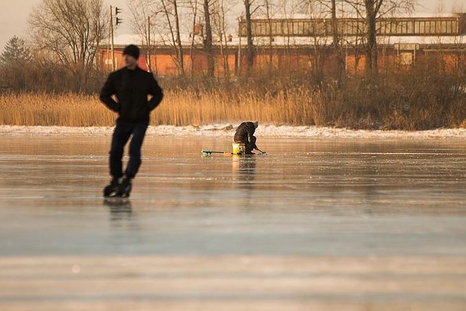 ВКазани рыбак потонул, провалившись под лед наВолге