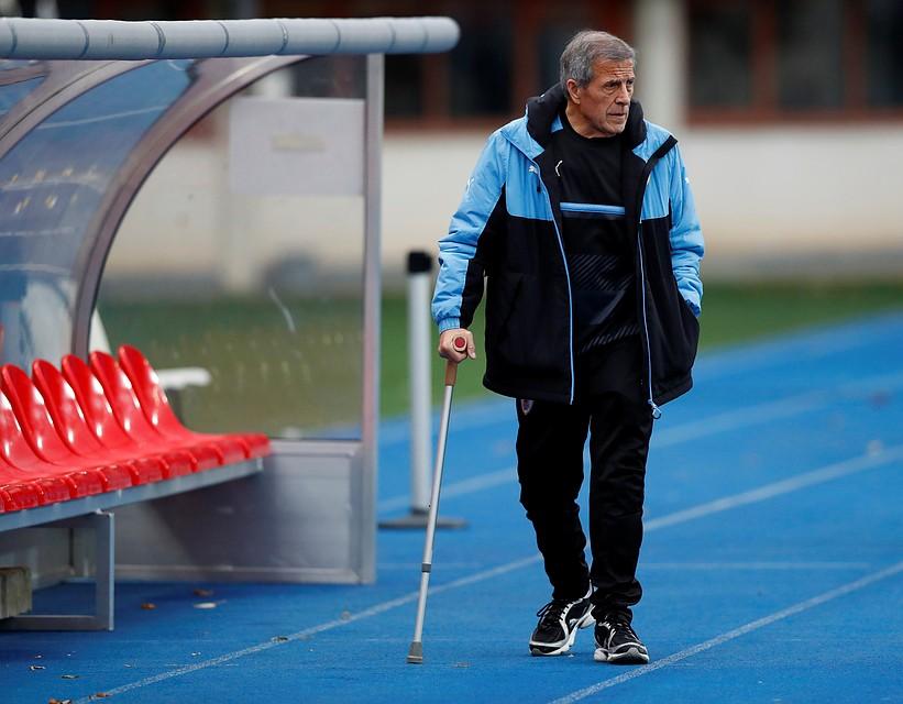 «Хорошая группа, мырады, что сыграем сРоссией»— Тренер сборной Уругвая