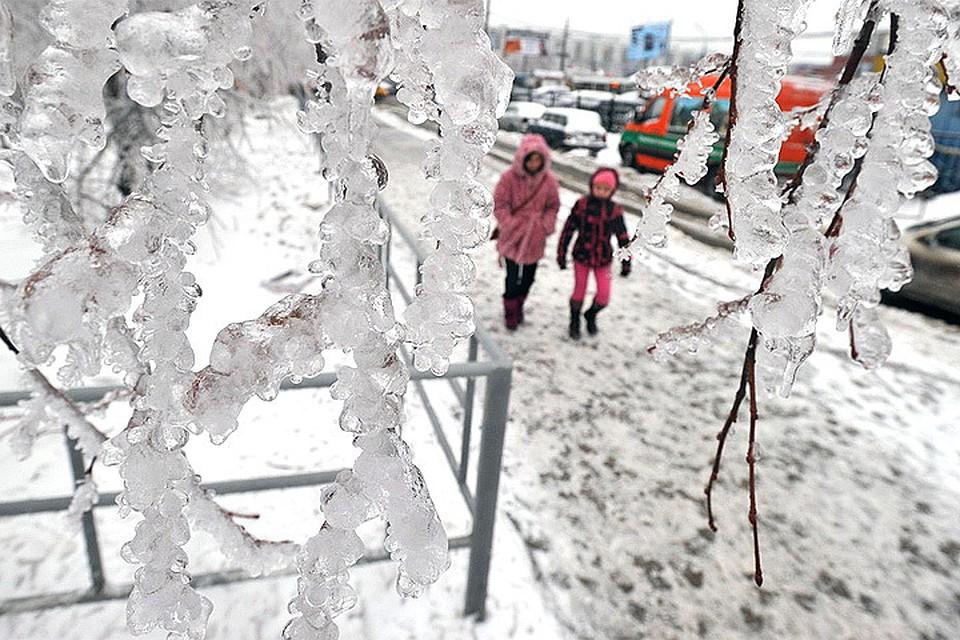 Напротяжении  суток вТатарстане предполагается  снег, метель иледяной дождь