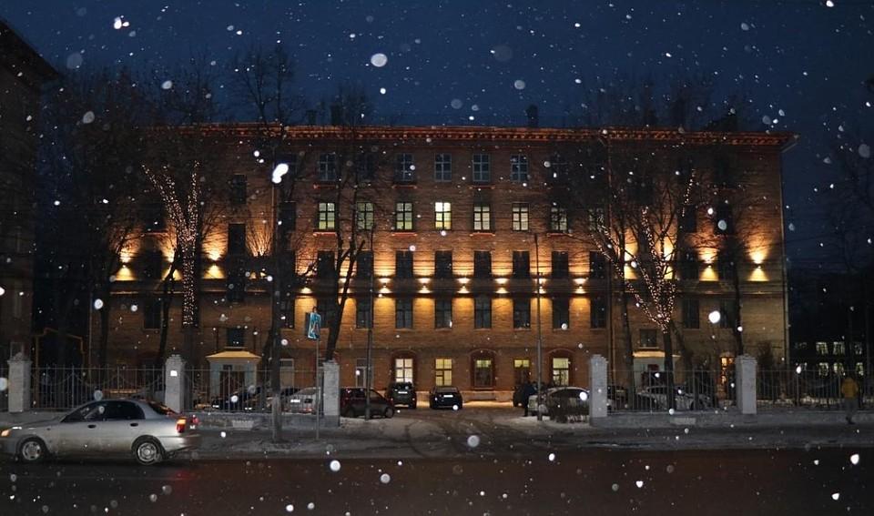 Новогоднюю иллюминацию вРязани дополнит строительная подсветка зданий