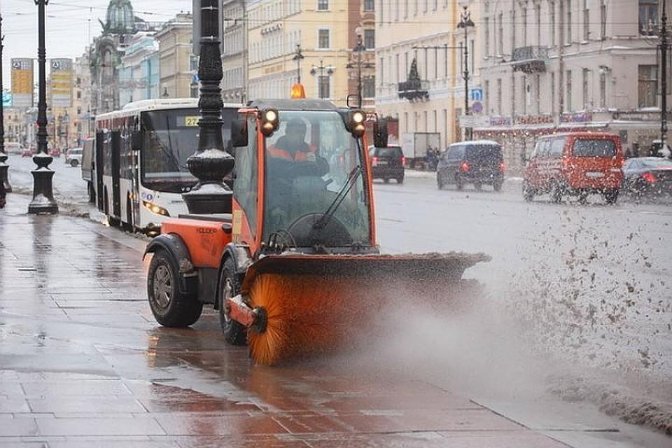 Для петербуржцев стал доступен онлайн сервис для слежения зауборкой улиц города