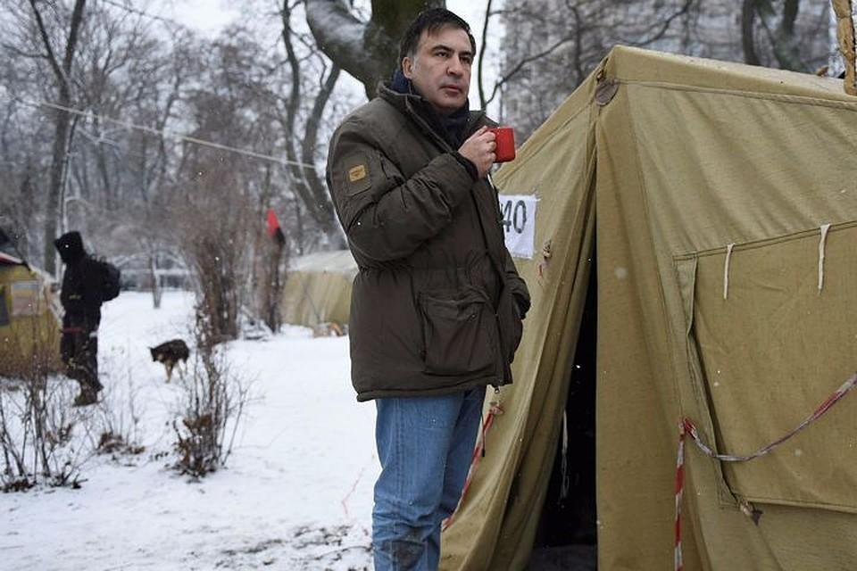 Саакашвили задержали вквартире прежнего руководителя МВД Луганской области