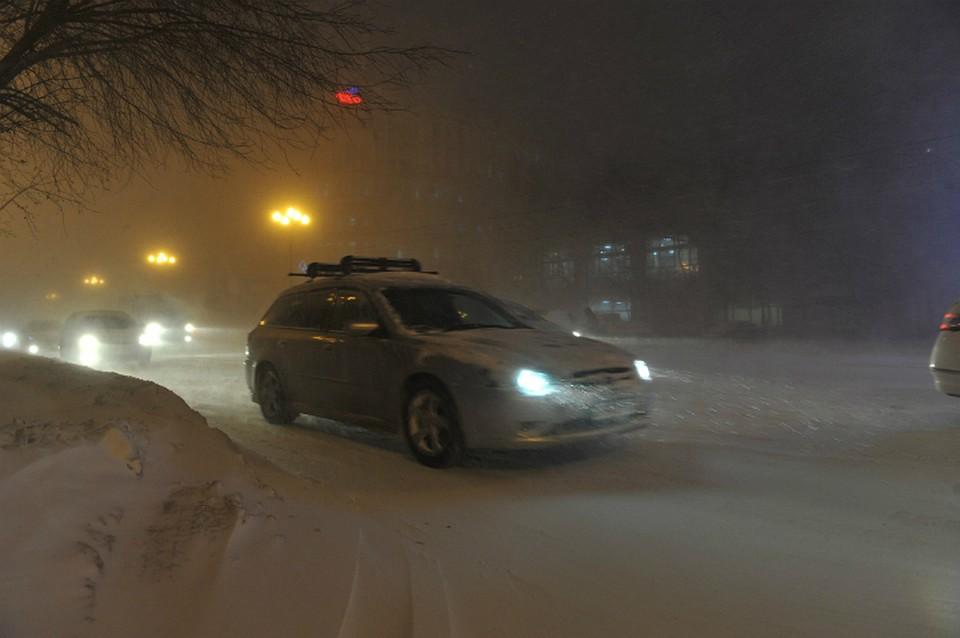 ПоХабаровскому краю пройдется снежная буря