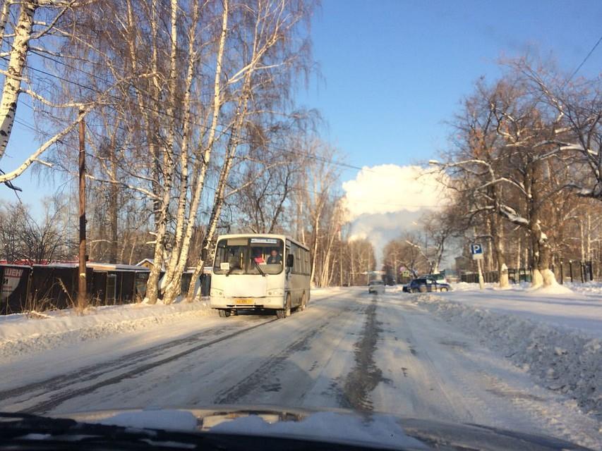 ВСреднеуральске из-за плохого состояния дорог ограничили движение публичного транспорта