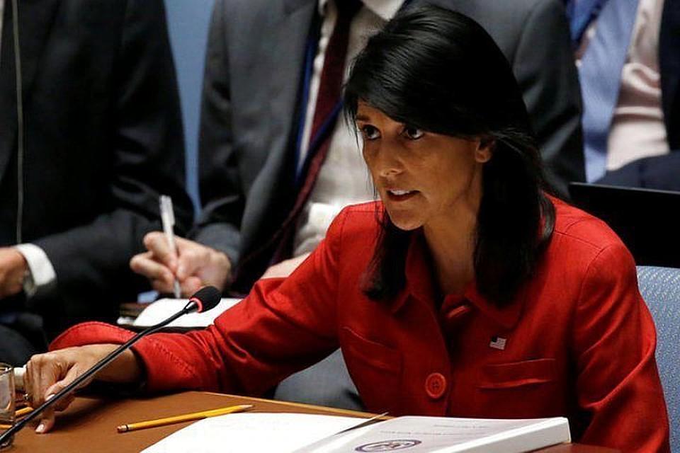 Хейли представит свидетельства «угрозы Ирана»