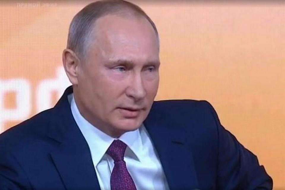 Воронежский корреспондент попросил у В. Путина денежных средств наонкоцентр