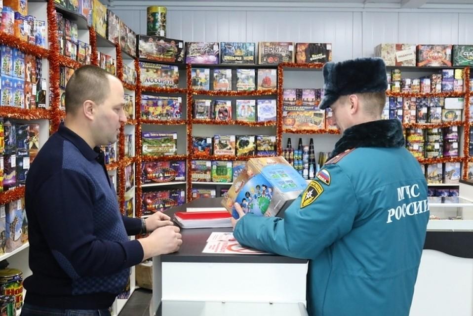 Места продажи пиротехники проверят вНижнем Новгороде