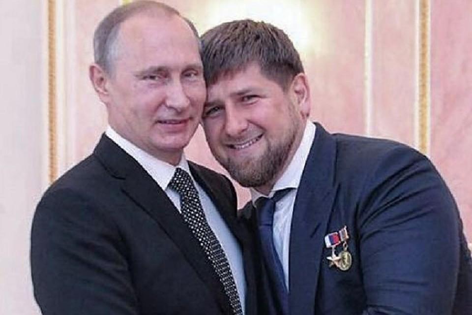 «Пойдём пешком, куда прикажет». Кадыров прокомментировал шутку В. Путина очеченцах
