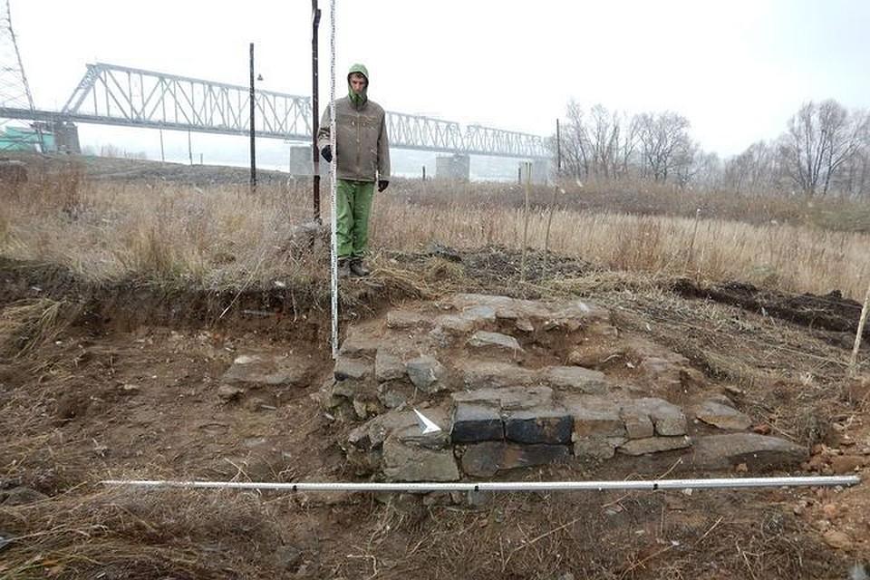 Взону возведения моста вНовосибирске попал археологический монумент