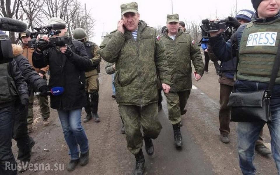 Власти ДНР поведали, когда русские офицеры покинут СЦКК вДонбассе