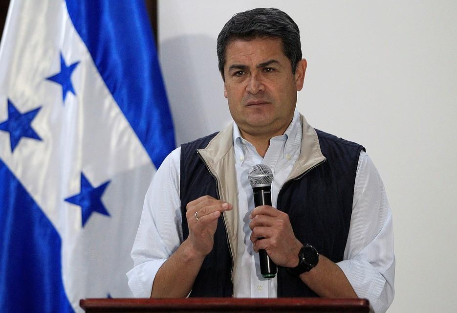 Президент Гондураса Хуан Орланд Эрнандес переизбран на 2-ой срок