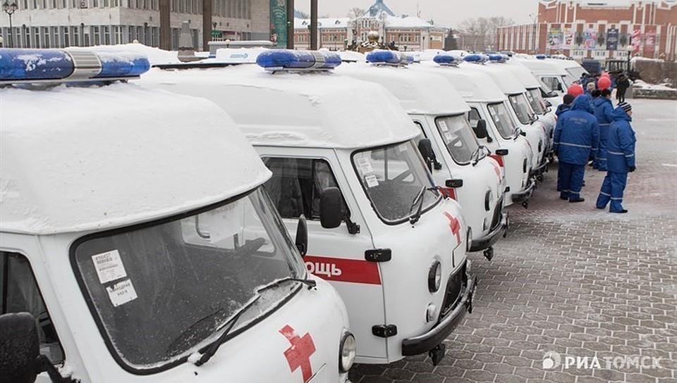 Медучреждения Томской области получили 21 автомобиль скорой помощи