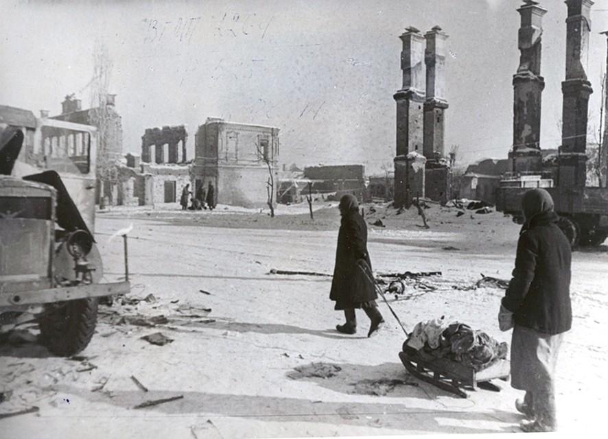 Волгоградцы увидят собственный город после Сталинградской битвы
