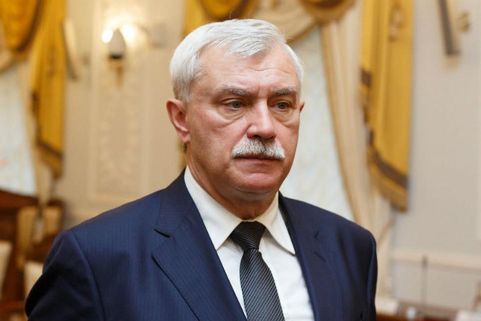 Георгий Полтавченко прокомментировал слухи о собственной отставке