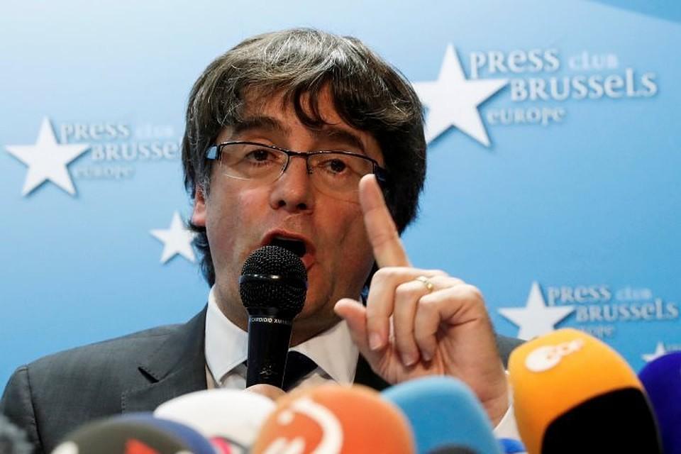 После выборов Пучдемон объявил опобеде каталонской республики