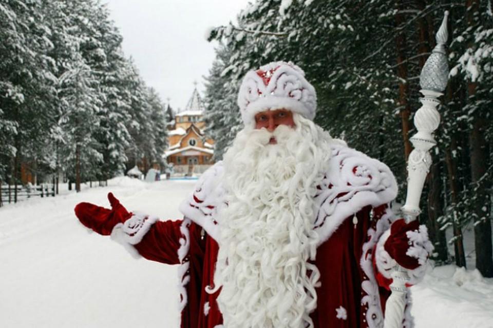НаДворцовой закончился забег Дедов Морозов