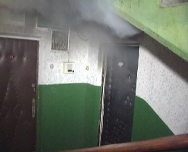 2-х женщин спасли напожаре воВладивостоке