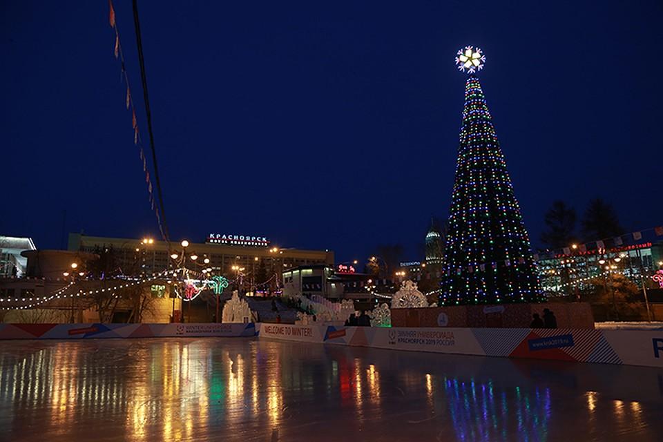 ВКрасноярске вновогоднюю ночь выберут народного Деда Мороза