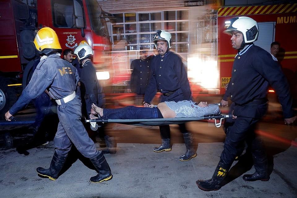 14 человек погибли впожаре вофисном помещении вМумбаи