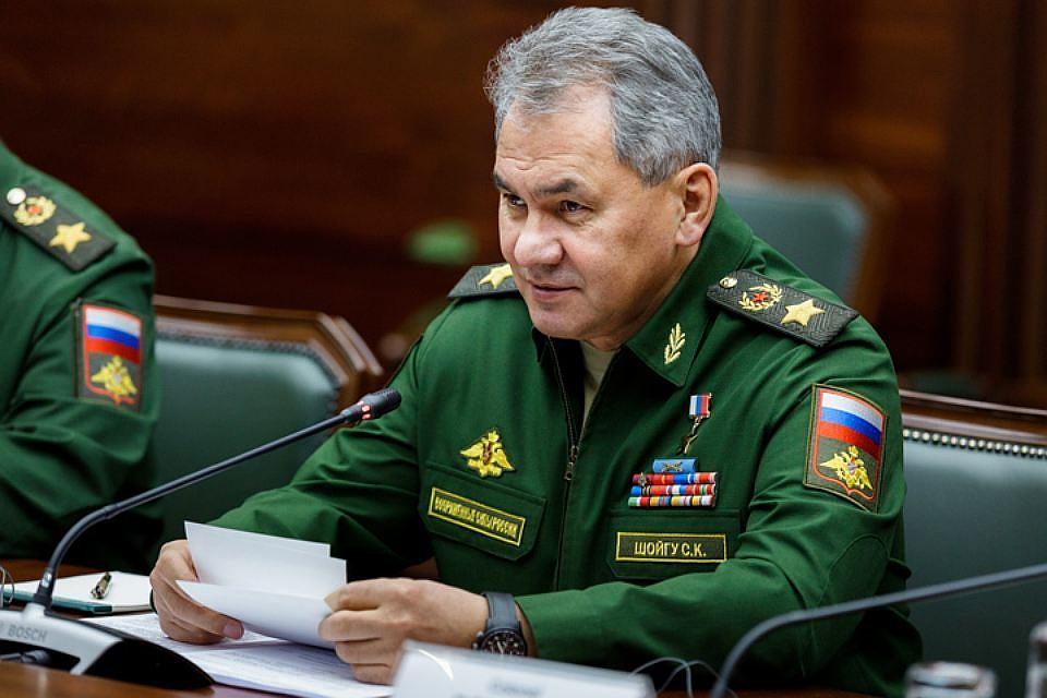 Шойгу поздравил сНовым годом военнослужащих иветерановВС РФ