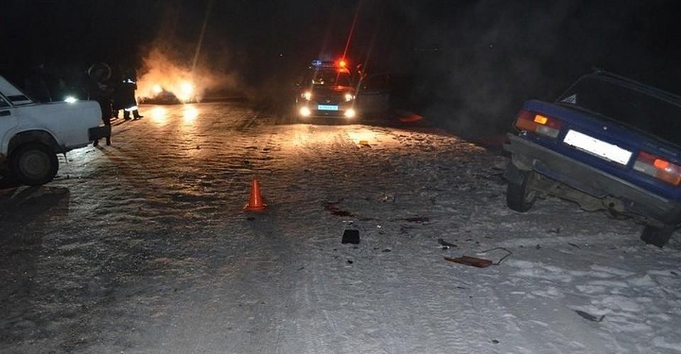 ВБашкирии пассажир «пятёрки» умер после столкновения с«семёркой»