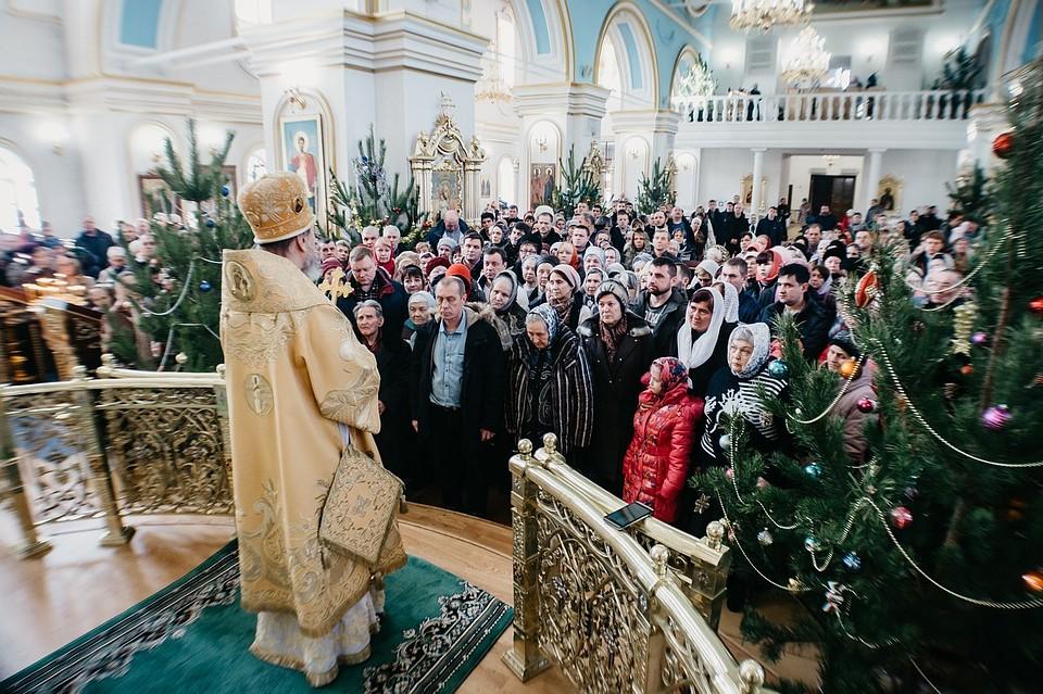 Вдни празднования Рождества Феофан совершит богослужения в4 храмах