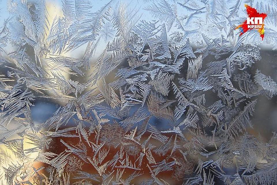 Петербуржцам обещали  мороз до-12 градусов вначале рабочей недели