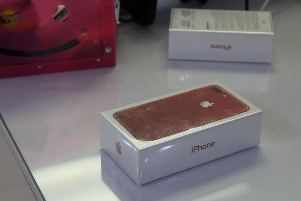 Пограничники отыскали вкрасноярском магазине 30 нелегально ввезенных iPhone