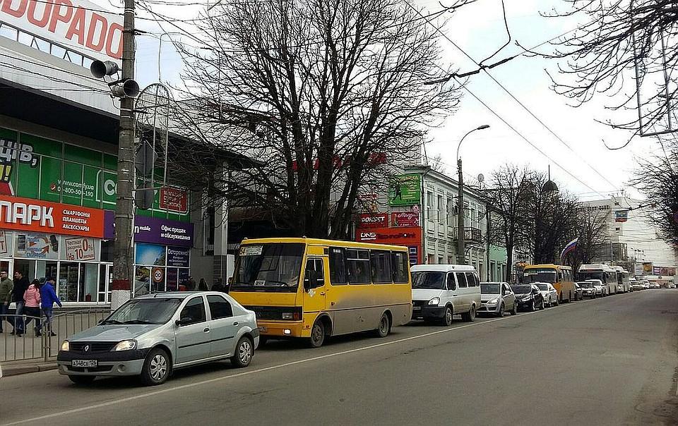 Доконца недели Симферополь ожидают новые изменения всхеме движения транспорта