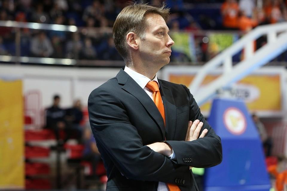 Олаф Ланге оставляет баскетбольный клуб «УГМК»
