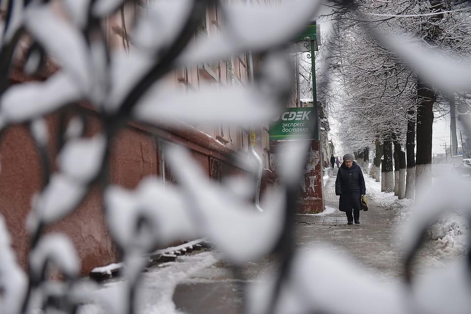 Погода вТуле 25января: малооблачно, до 10-ти градусов мороза
