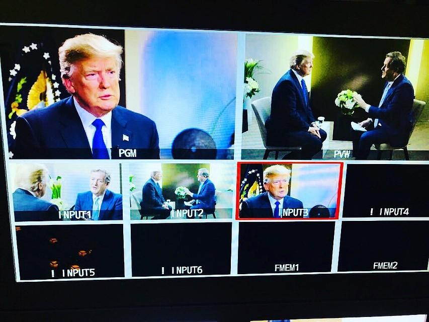 Социальная сеть Twitter сказал о470 тысячах репостов сообщений Дональда Трампа «русскими ботами»