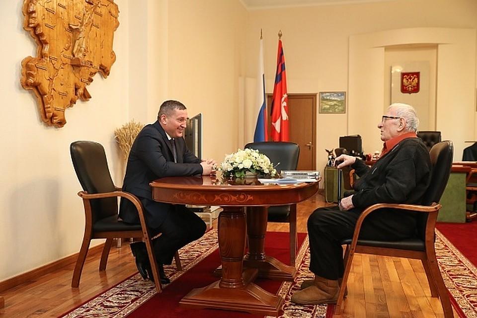 Андрей Бочаров иМаксим Загорулько обсудили подготовку кюбилею 2февраля