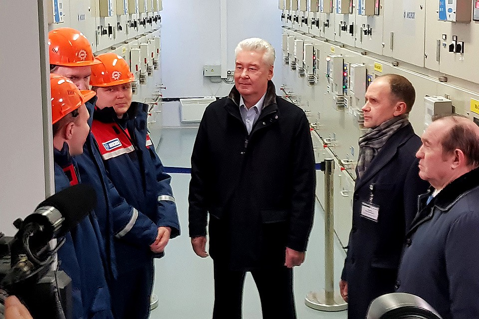 Сергей Собянин объявил осоздании энергетического кольца столицы