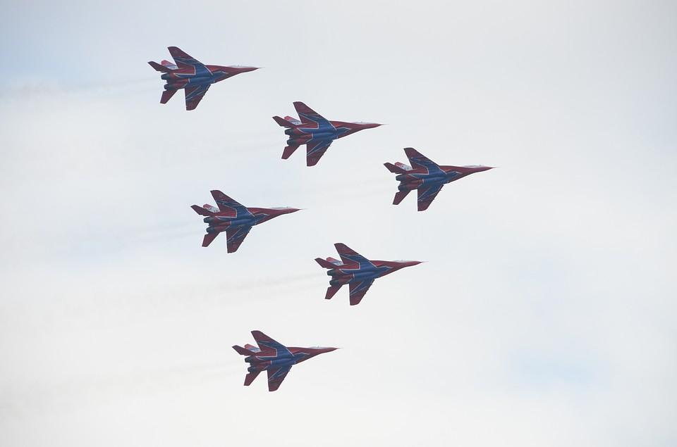 Волгоградцы смогут два раза увидеть полеты «Стрижей» 2февраля