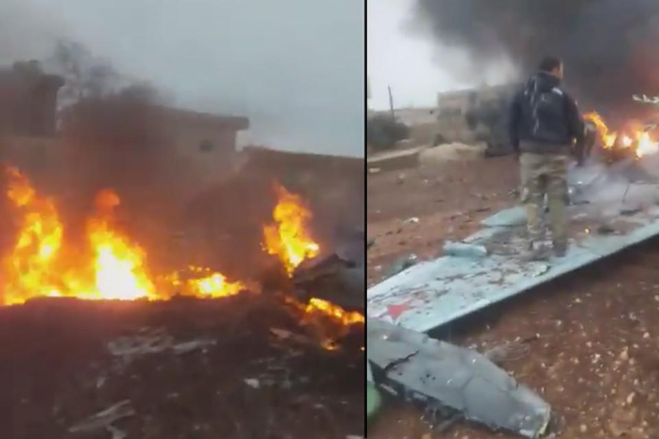 Пилот сбитого вСирии Су