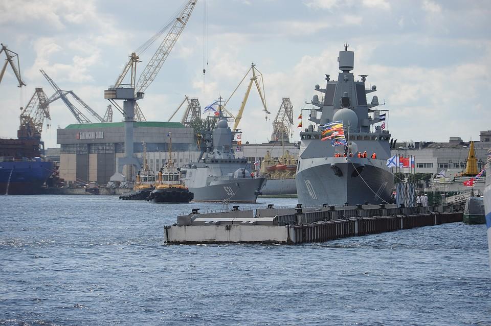 Завершающие госиспытания фрегата «Адмирал Горшков» пройдут весной