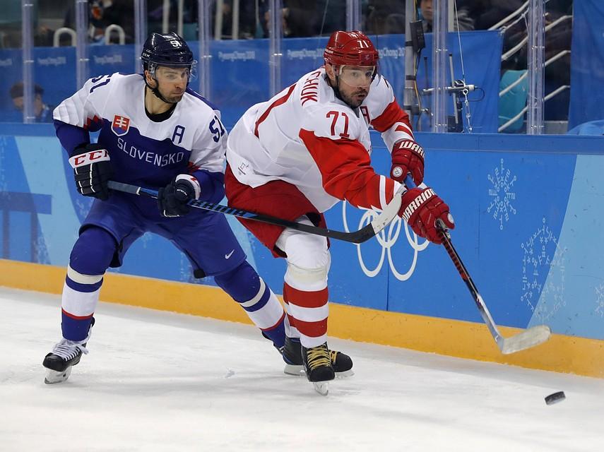 Норвегия: русские хоккеисты сыграют спобедителем матча Словения