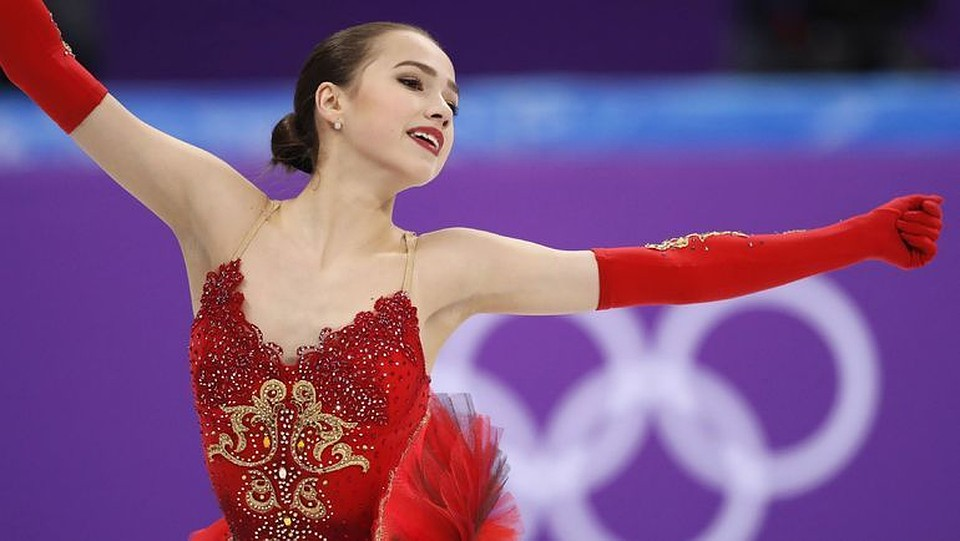 Медведева поведала оботношении кфигуристке, которая побила еерекорд