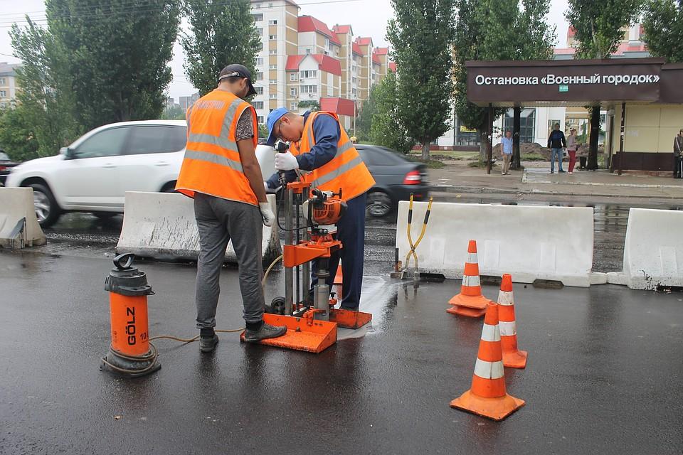 Воронежские власти направят неменее 102 млн руб. надорожную разметку