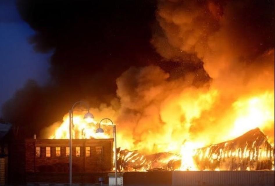 Вбританском Лестере произошел мощнейший взрыв