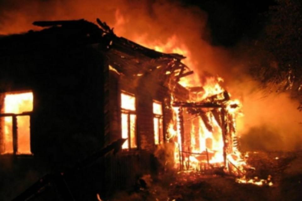 ВНСО случился пожар, вкотором погибла престарелая женщина