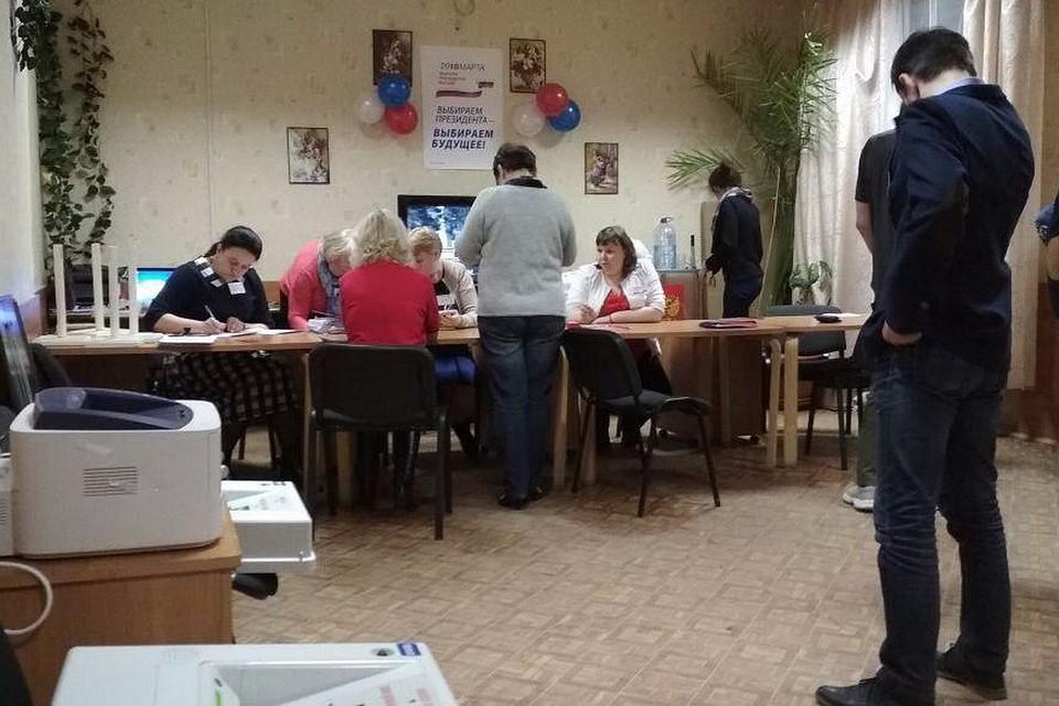 Голосование навыборах лидераРФ вПсковской области завершилось