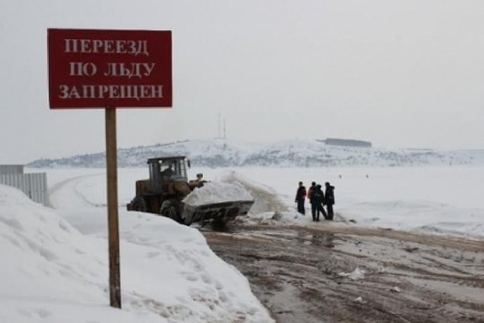 ВКемеровской области закрыта первая ледовая переправа